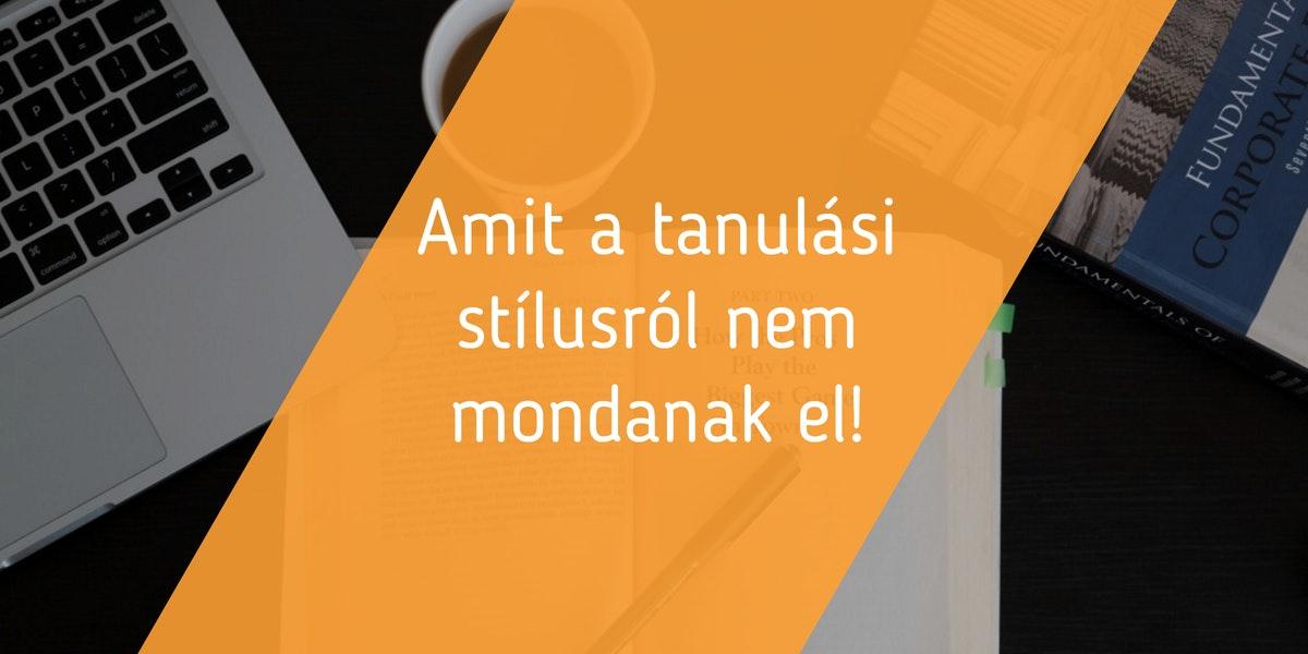 Read more about the article Amit a tanulási stílusról nem mondanak el