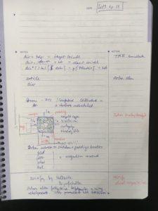 Felosztott jegyzetelési technika